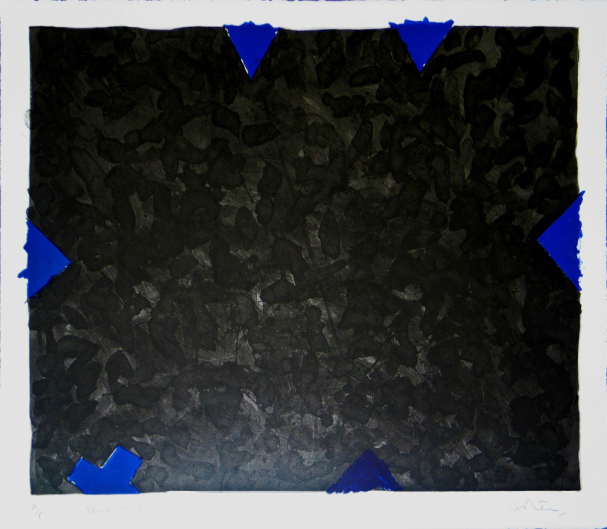 Blue, 1998, lithograph, 510 x 590mm