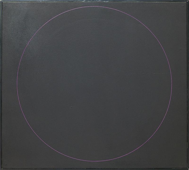 Black Painting, 1969, acrylic on canvas, 910 x 1010mm