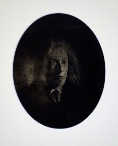 Lovecraft, 2017, monoprint, 120 x 150mm