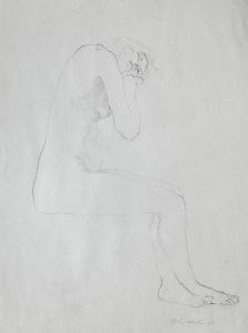 Untitled - Live Drawing, 1964, pencil on paper