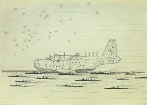 Untitled (Sutherland Flying Boat), 1990