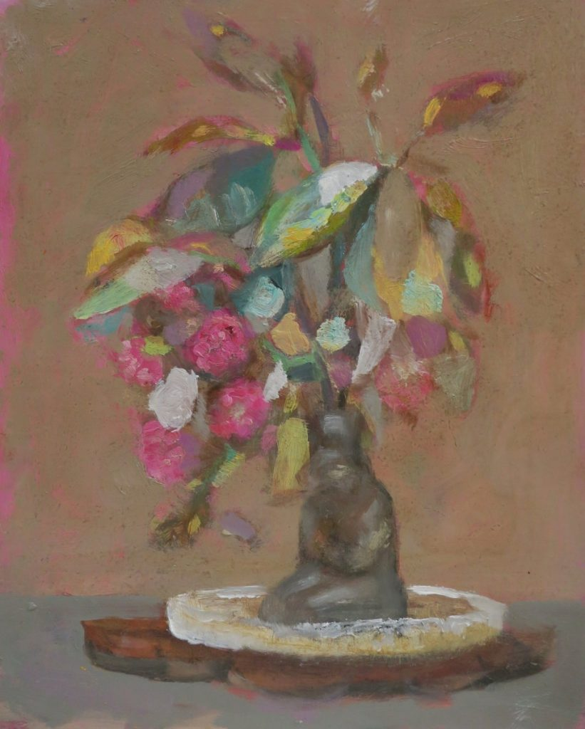Still Life I, 2017, oil on board, 250 x 203mm