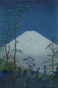 Koichi Okada - Mt Fuji, 1954