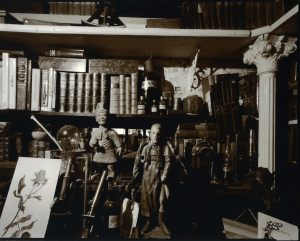 Interior, Broad Bay, Dunedin, 19 February 1999. [silver gelatin, POP print. 1999/2006/ 2 of 2]