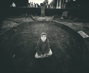 Kamala, Mornington Cemetery, Dunedin, February 1978. [solver gelatin, selenium toned. 1978/1987.]